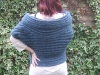 Rowboat Cardi in alpaca - back