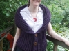 Rowboat Cardi in DROPS Nepal yarn - front