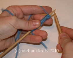Continental hold with right-hand as dominant