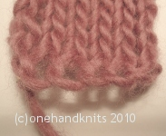 Knitted cast-on
